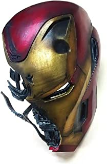 Cosplay Film degli Accessori del Costume QWEASZER Marvel X-Men Deadpool Casco Integrale in Maschera Halloween per Adulti Uomini Fancy Dress Puntelli di Prestazione,Red-55~62CM