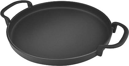 Onlyfire Poêle Ronde en Fonte Ø30,5 cm pour Weber Gourmet BBQ System 7421 | pièces de Rechange pour Weber 57cm Barbecue au...