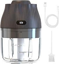 REDSTORM Mini Hachoir Electrique à Ail, 40W Puissant Hachoir à Légumes Portable sans Fil Hachoir à Légumes Rechargeable US...