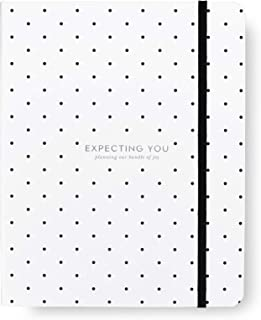 Kate Spade New York Baby Planner, Includes 9 Months with Weekly Views for Appointments, Expecting You (Black dot)