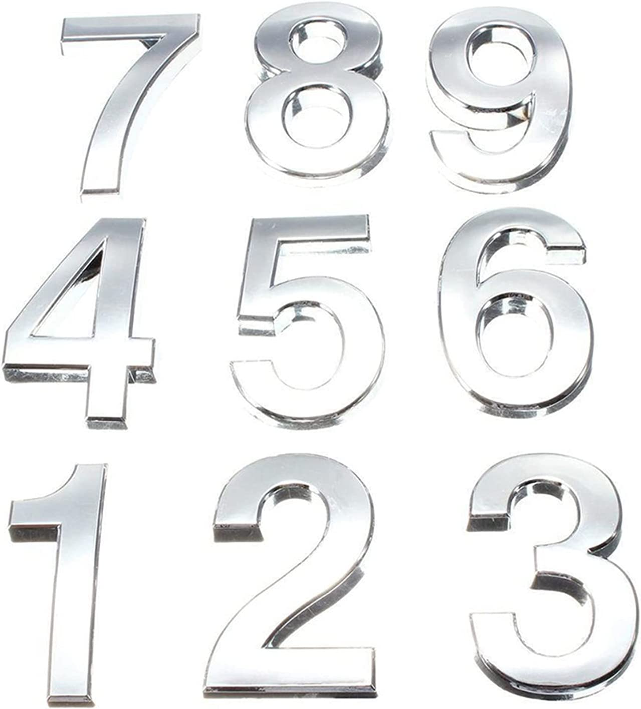 House Number Max Max 45% OFF 52% OFF 5cm Digits 0-9 Sign Hotel Tag Sticker Plate