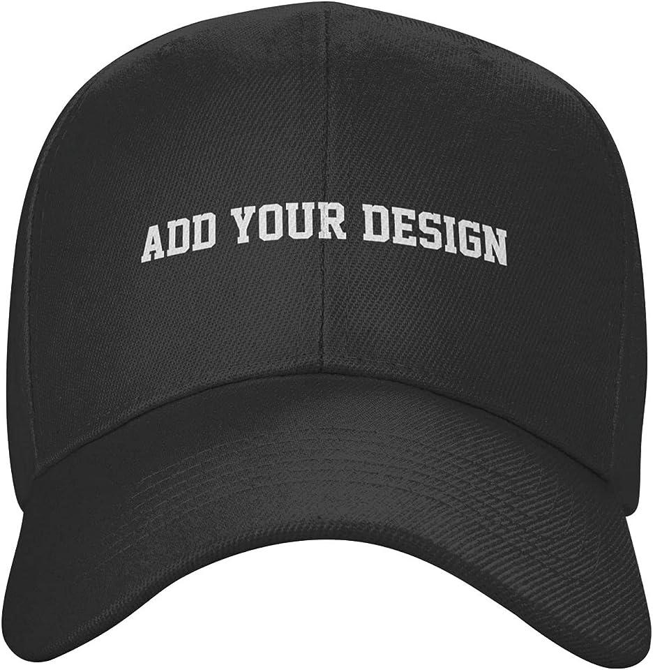 Custom Unisex Adjustable Casquette Baseball Cap,Lightweight Breathable Baseball Cap Outdoor Sports Solid Hats