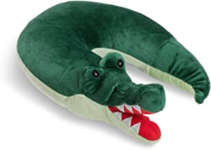 Critter Piller Kid's Travel Buddy and Comfort Pillow, Hypoallergenic, Machine Washable