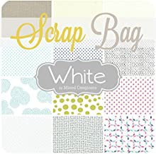 Southern Fabric Low Volume Scrap Bag (Approx 2 Yards) by Mixed Designers DIY Quilt Fabric