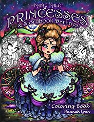 Fairy Tale Princesses & Storybook Darlings Coloring Book by Hanna Lynn