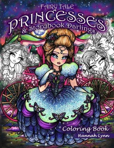Fairy Tale Princesses & Storybook Darlings Coloring Book