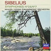 SIBELIUS: SYMPHONY NO.2 & NO.7 by Lorin Maazel / Vienna Philharmonic Orchestra (2013-05-15)