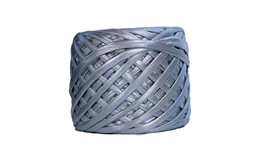 Metallic Yarn 55 Yards (Silver)