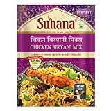 Suhana Chicken Biryani 50g Pouch | Easy to Cook | Spice Mix - Pack of 9