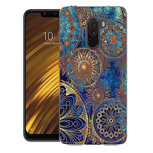 CaseExpert Xiaomi Pocophone F1 Funda, Carcasa Cover Case Funda de Gel TPU Silicona para Xiaomi Pocophone F1