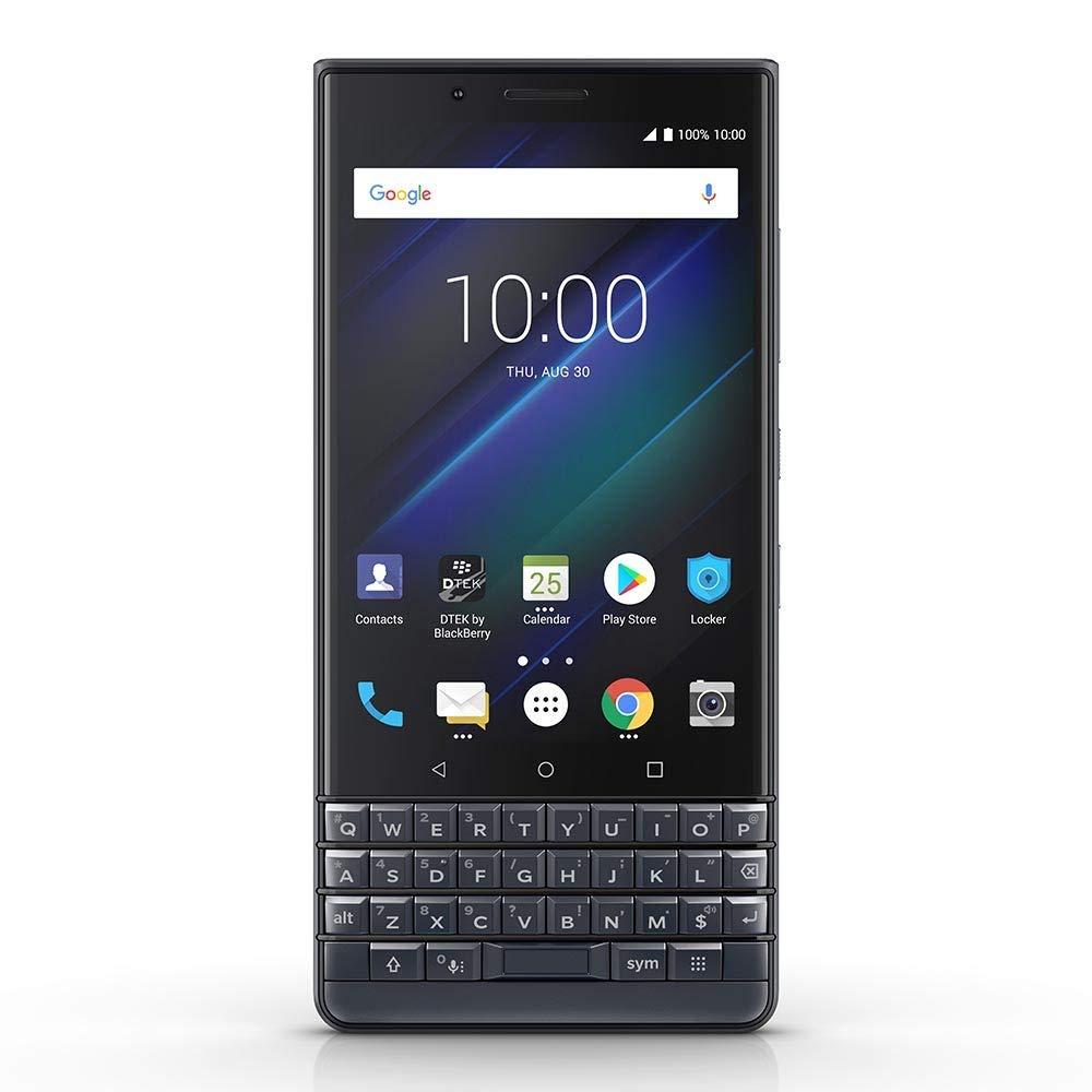BlackBerry KEY2 LE Unlocked Android Smartphone, 64GB, 13MP Rear Dual Camera, Android 8.1 Oreo (U.S. Warranty) - ((Slate, 6...