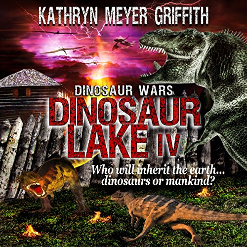 Dinosaur Wars audiobook cover art