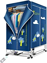 KASYDoFF Clothes Dryer Portable 1500W-1.7 Meters 3-Tier Foldable Clothes Drying Rack Energy Saving (Anion) Clothing Dryers...