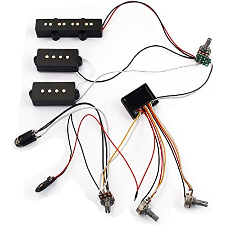 Amazon.com: BQLZR 2 Band Active EQ Preamp Circuit for Bass Guitar with  Output Jack: Musical Instruments | Bass Guitar Preamp Wiring Diagram |  | Amazon.com