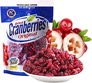 AC Farm Dried Cranberries 14.1-Ounce Original Dried Fruits Snack Gluten Free- Peanut Free (14.1 Ounce (Pack of 12))