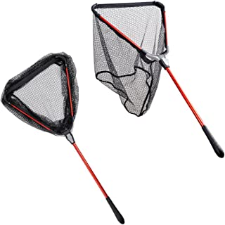 Fiblink Folding Aluminum Fishing Landing Net Fish Net...