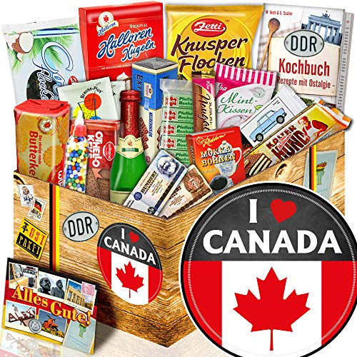 I love Canada / Ossi Paket Süß / Kanada Geschenkbox