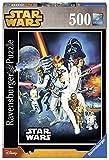 Star Wars- Krieg Der Sterne Puzzles 500 Piezas, 25.4 x 16.5 x 6.3 (Ravensburger 14662)
