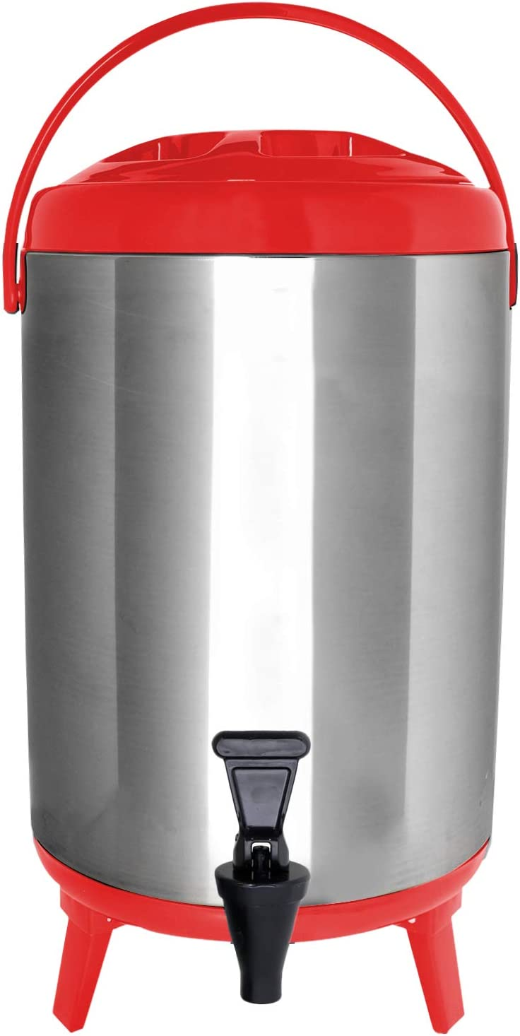 Topics on TV Challenge the lowest price Vollum Stainles Steel Insulated Insula Beverage – Dispenser
