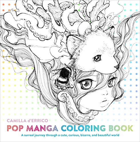 Pop Manga Coloring Book: A Surreal...