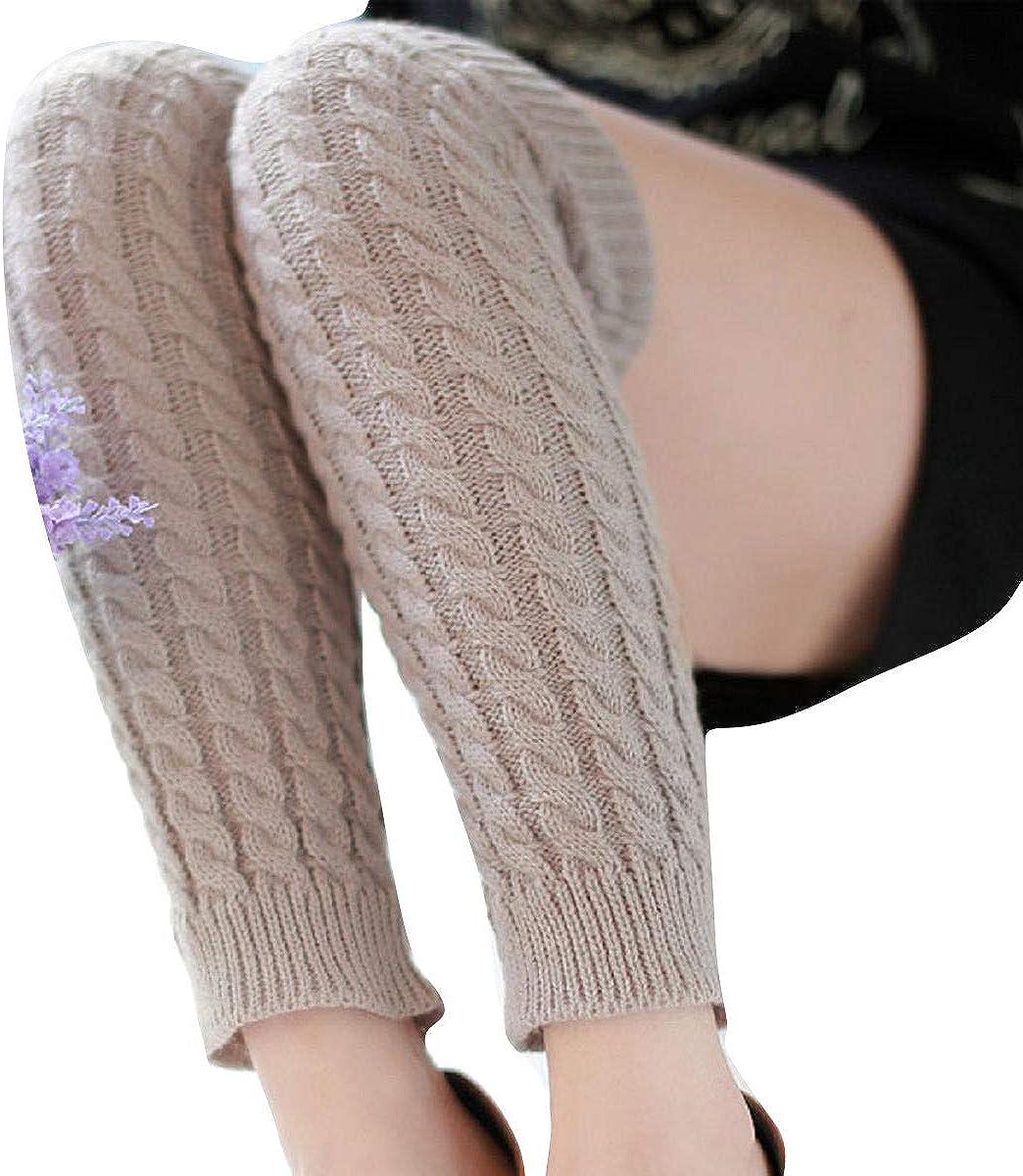 UJUNAOR 2018 Frauen Wollesocken Yoga Socken Warme Winter Leggings Beindecke Elastizit/ät