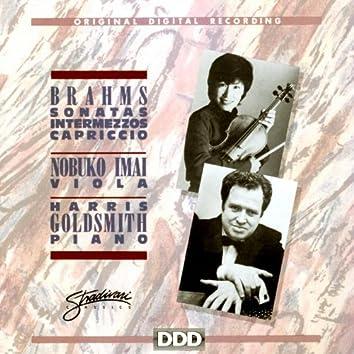 Brahms: Sonatas, Intermezzos, Capriccio