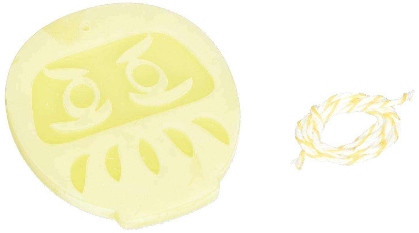 夕食を作る自殺話GRASSE TOKYO AROMATICWAXチャーム「だるま」(YE) ベルガモット アロマティックワックス グラーストウキョウ