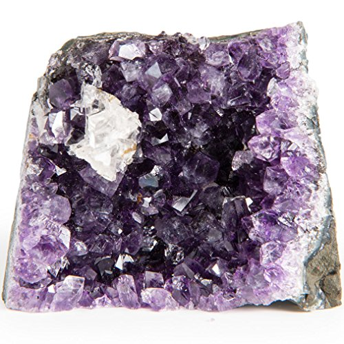 Digging Dolls Specimens: Exceptional Amethyst Geodes from Uruguay - 6 lbs to 7 lbs - B Grade - Amethyst Stone Rock Specimen for Arts, Crafts, Home Décor, Reiki and Crystal Healing