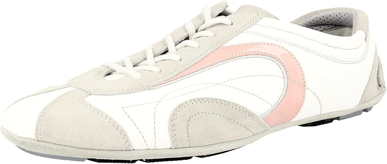 Prada Women's 3E3361 3I4 F0028 Leather Sneaker