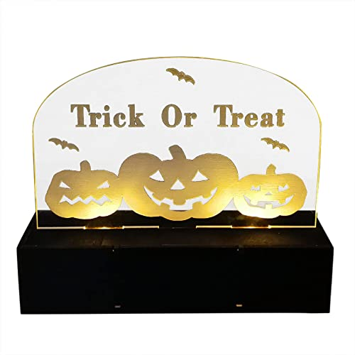 lowest RiamxwR Happy popular Halloween Pumpkin Witch Night Light, Plug-in LED Nightlights for Bedroom online Bathroom Kitchen Hallway Stairs Decoration, 6.1(L) x 2(W) x 4.8(H) inches (Style A) online sale
