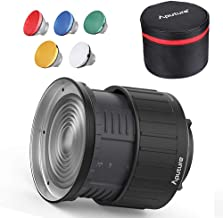 Aputure Fresnel 2X Lens Mount for Aputure 120D Mark 2 Aputure 300D Aputure 120D Light Storm LS C300D and Other Bowen-S Mount Continuous Lights- Including Pergear Soft Diffuser