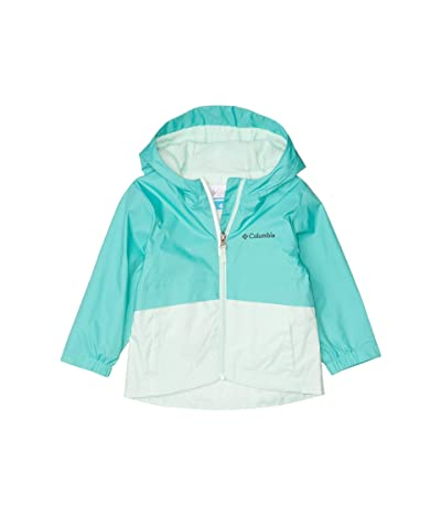 Columbia Kids Rain-Zillatm Jacket (Toddler) (Dolphin/Sea Ice) Girl