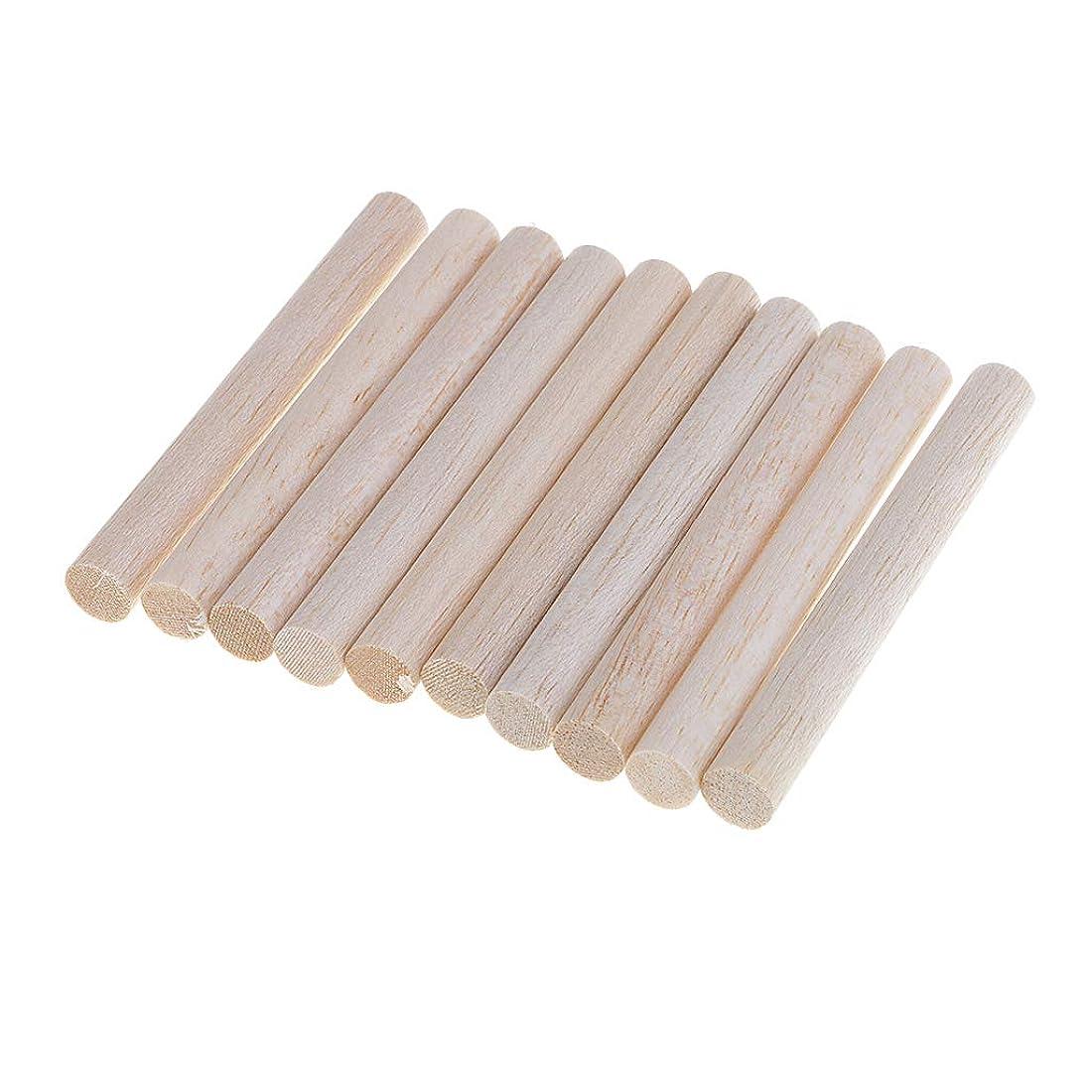 頭蓋骨絶滅した大宇宙10本入り 多目的 手芸材料 木製 3サイズ選べ 丸い 木棒 木工 手作り デザイン小物 DIY工芸品 - 100mm