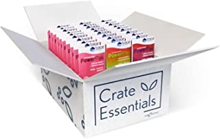 Crate Essentials Trace Minerals Electrolyte Stamina Power Pak Beverage Sample Box, 30 Packets, Watermelon, Cranberry, Pome...