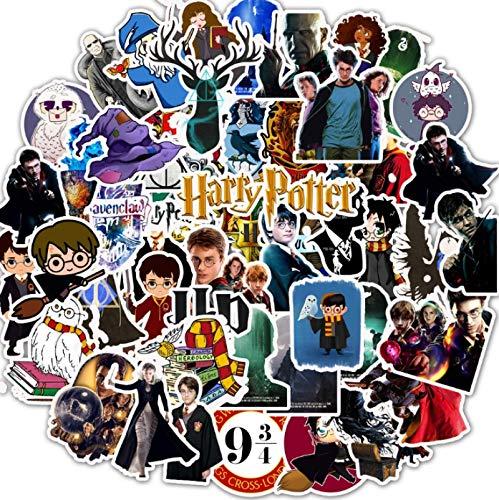 MBGM Harry American Tv Pegatinas Potter Cartoon Laptop Maleta Guitarra Pegatinas 50pcs