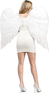 Adult Feather Angel Wings Costume Accessory