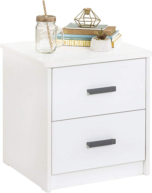 Cilek White Collection Nighstand For For Kids And Teens Unisex