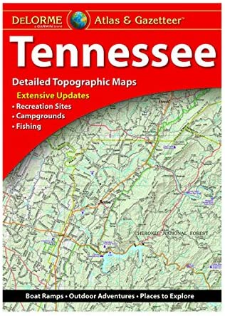 DeLorme Atlas Gazetteer Tennessee product image