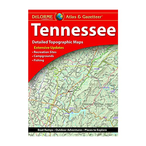 DeLorme Atlas & Gazetteer: Tennessee
