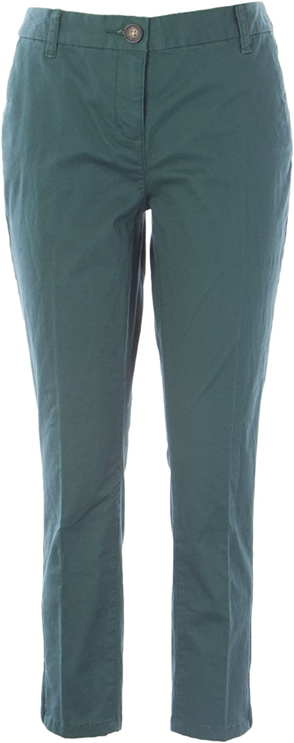 BODEN Women's Zip Ankle Skimmer Pants Castleton Green