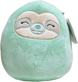 Squishmallows Official Kellytoy Aqua The 8 Inch Sleepy Eyes Sloth Squishy Green Plush Toy Animal
