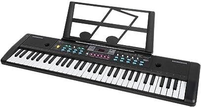 61-Key Digital Electric Piano Keyboard, Portable Electronic