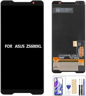 "A-MIND For ASUS ROG Phone ZS600KL 交換修理用 液晶パネルセット 6.0""インチ フロントパネル タッチパネルデジタイザー LCDスクリーン"