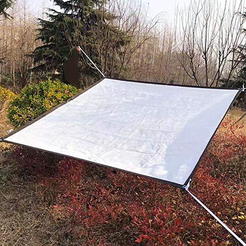 Filet D'ombrage Voile D'ombrage 80% Sunblock Garden - Tissu en Tissu D'ombre Blanc pour Terrasse Patio Pergola Arrière-cour, Auvent D'auvent avec Oeillets (Size : 1×2m)