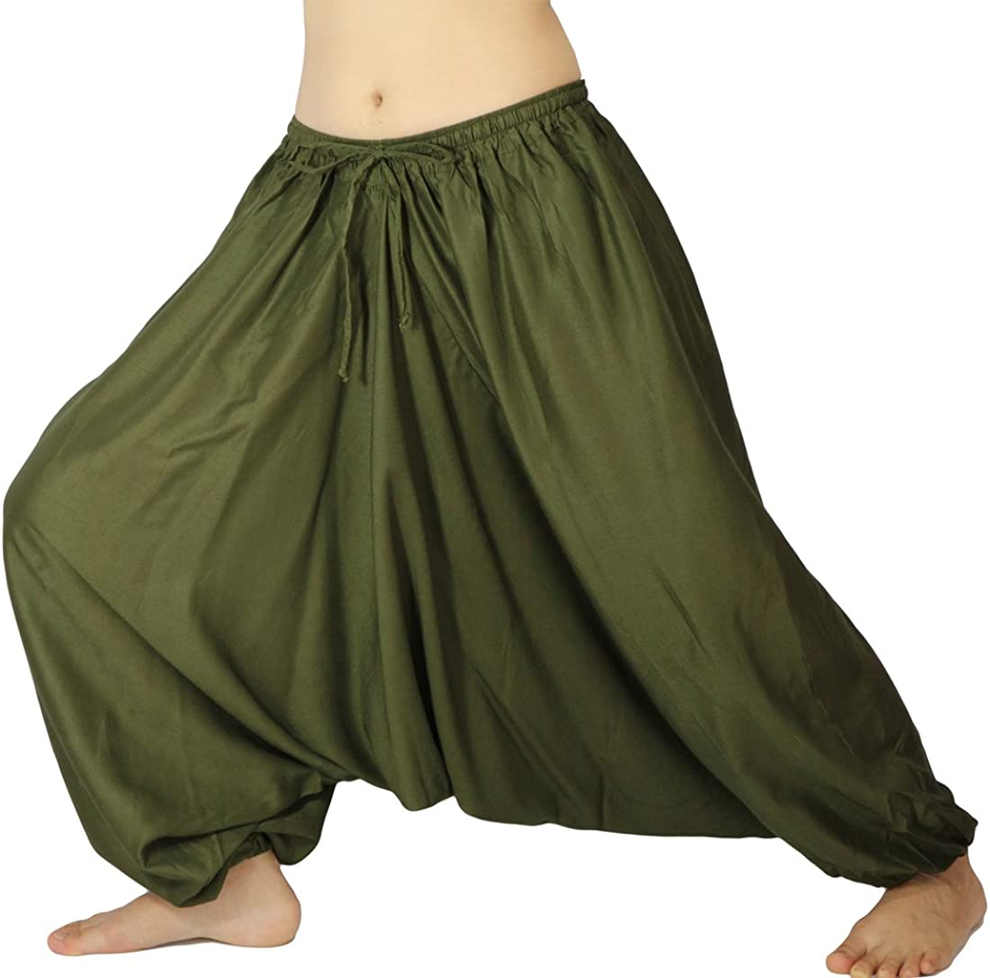 Lovely Creations Unisex Plus Size Mail order Baggy Max 74% OFF Hare Hippie Yoga Aladdin