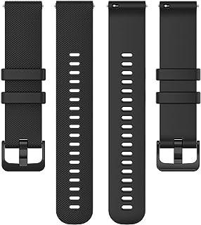 DLDQMY Smart Watch vervangende armband voor Garmin Venu Sq/Forerunner 745 armband pols pure kleur zachte siliconen waterdi...