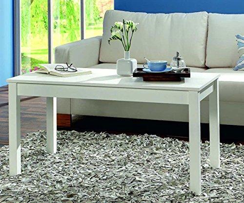 Woonkamertafel salontafel bijzettafel salontafel salontafel tafel wit 110cm