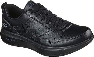Skechers Men's Gowalk Steady-Relaxed Fit Full Leather Lace-up Performance Walking Shoe Sneaker