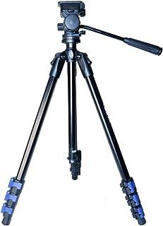 Tripé Profissional Foto e Vídeo com Cabeça Hidráulica, Weifeng WF5316, Preto