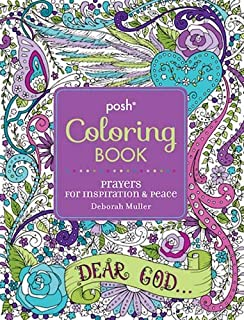 Posh Adult Coloring Book: Prayers for Inspiration & Peace (Volume 12) (Posh Coloring Books)